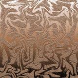 Brun metallisk abstrakt bakgrund Royaltyfri Bild