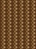 brun nyanserad vektor för diamant eps8 modell Arkivfoto