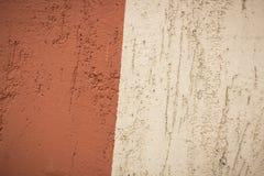 Brun och beige bakgrund för texturerad murbruk Royaltyfri Fotografi