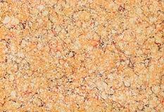 Brun och röd textur för marmorpapper Arkivfoto