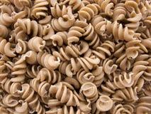 brun pasta Royaltyfri Fotografi