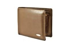 Brun plånbok Arkivfoton