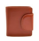 Brun plånbok Royaltyfri Fotografi