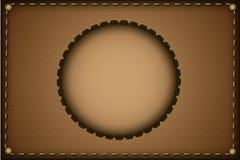 brun ram Royaltyfria Bilder