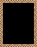 brun ram Arkivfoto