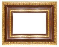 brun ram arkivbild