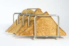 brun rostat bröd Royaltyfria Foton