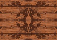 Brun sömlös trätextur vektor Plankabakgrund stock illustrationer