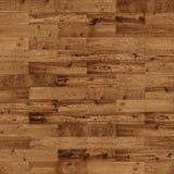 Brun sans joint en bois Images libres de droits