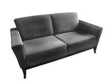 brun sofa Fotografering för Bildbyråer