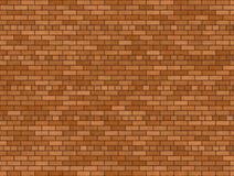 Brun tegelstenbakgrund Fotografering för Bildbyråer