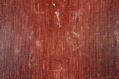 Brun textiltextur för tappning med fläckar och att blekna abstrakt bakgrund Royaltyfri Bild