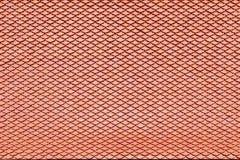 Brun textur för tak för keramisk tegelplatta för bakgrund Royaltyfri Fotografi