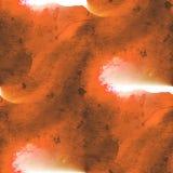Brun texturisé, cadre de tableau sans couture rouge de palette image libre de droits