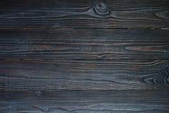 Brun träbakgrund för mörker Arkivfoton