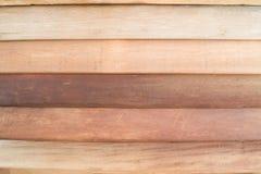 Brun träplankatexturbakgrund Royaltyfri Bild