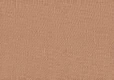 Brun tygtextur för bakgrund Royaltyfri Fotografi