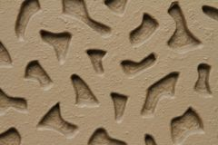 Brun vägg Arkivbild