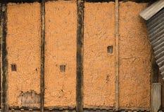 Brun vägg Arkivbilder