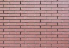 brun vägg för tegelsten Royaltyfria Foton