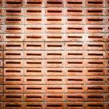 Brun väggtextur Arkivfoto