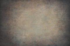 Brun vignetting hand-målad bakgrund arkivfoton