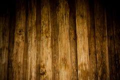 Brun Wood bakgrund Royaltyfri Foto