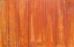 Brun wood bakgrund för plankaväggtextur Royaltyfri Bild