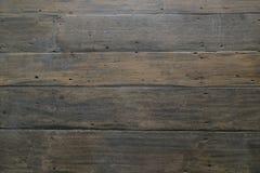 Brun wood bakgrund: Gammal stil för thailändskt hus Arkivbild