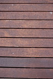 Brun wood modell Royaltyfri Fotografi