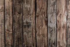 Brun wood plankatextur för timmer, industriell bakgrund för vägg Arkivbilder