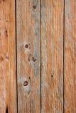 Brun wood plankaväggtextur Royaltyfri Bild