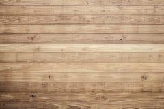 Brun wood plankavägg Royaltyfria Bilder