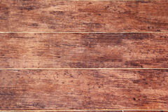 Brun wood vägg Royaltyfria Foton