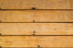 Brun wood vägg fotografering för bildbyråer