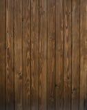 Brun wood vägg som bakgrund Royaltyfri Bild