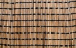 Brun wood vävtextur Royaltyfri Fotografi