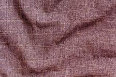 Brun yttersida för torkduk för färggrov bomullstvilltextil Royaltyfria Bilder