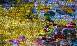 Bruna blått kontrasterar bubblabakgrund, abstrakt textur Fotografering för Bildbyråer