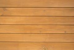 bruna horisontalplankor wall trä Royaltyfri Bild
