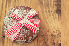 bruna kakor för bakgrund Arkivfoto