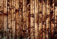 bruna mörka plankor Royaltyfria Bilder
