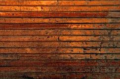bruna mörka plankor Arkivfoto