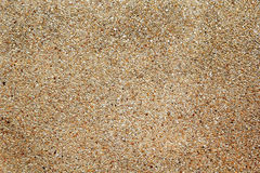 Bruna mycket små vaggar golvet Arkivfoton