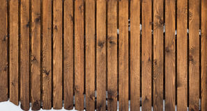 Bruna naturliga massiva wood plankor Fotografering för Bildbyråer