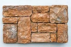 bruna stenar Arkivfoto