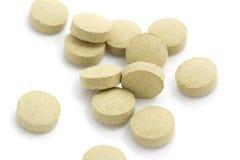 bruna tablets Arkivbild