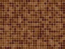 bruna tegelplattor royaltyfri illustrationer