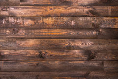 Bruna trähorisontalbräden Textur för bakgrunden Horisontal inrama Fotografering för Bildbyråer