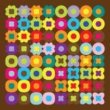 bruna wallpapers vektor illustrationer